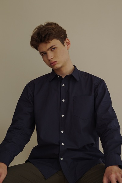 regular shirt navy