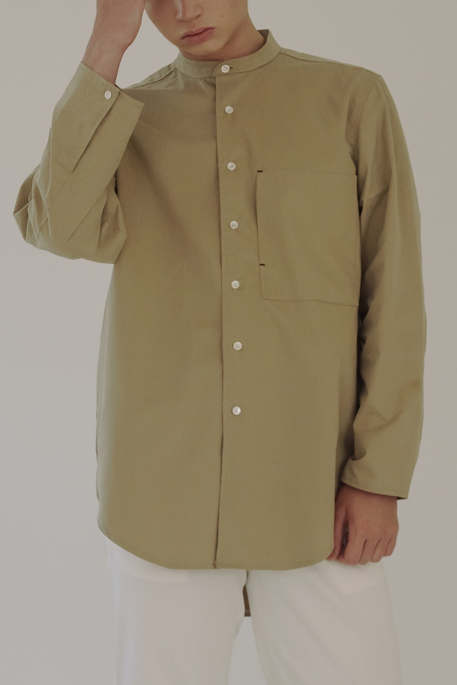 soft shirt beige